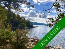 Waterfront Acreage with Cottage in Sechelt For Sale