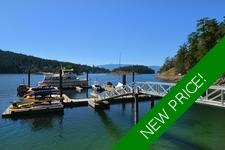 Waterfront Building Lot with Moorage in Garden Bay For Sale