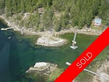 Nelson Island Waterfront Cottage + Dock for sale: Quarry Harbour 2 bedroom 1,180 sq.ft. (Listed 2016-07-22)