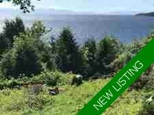 Waterfront Building Lot in Selma Park, Sechelt For Sale