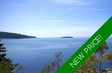 Waterfront Building Lot with Moorage in Halfmoon Bay For Sale