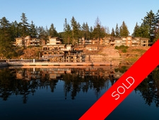 Oceanside Villa at Painted Boat Resort in Pender Harbour For Sale