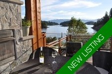 Stunning Waterfront Home - Whittakers at Pender Harbour For Sale