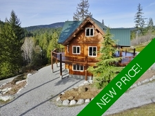Pender Harbour View Home & Acreage + Cottage + Workshop for sale