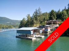 Waterfront Estate Property with Dock in Pender Harbour For Sale