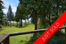 Private Subdividable acreage with Ocean Views in Sechelt For Sale