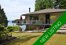 4 Bedroom Waterfront Home With Dock In Pender Harbour For Sale
