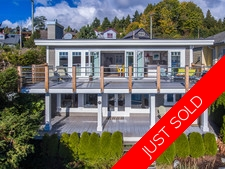 Low-bank Waterfront Home in Lower Gibsons For Sale
