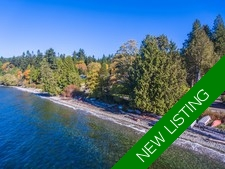 Stunning Waterfront Home & Guest House For Sale in Gibsons