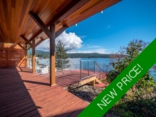 Contemporary West Coast Home + Guest House in Halfmoon Bay For Sale