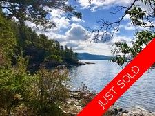 Waterfront Acreage with Cottage & Dock in Sechelt For Sale